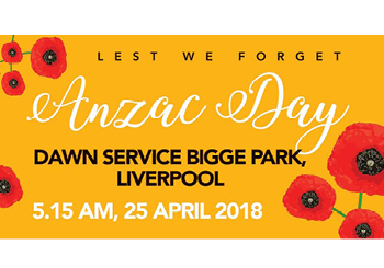 ANZAC DAY CLOSURE