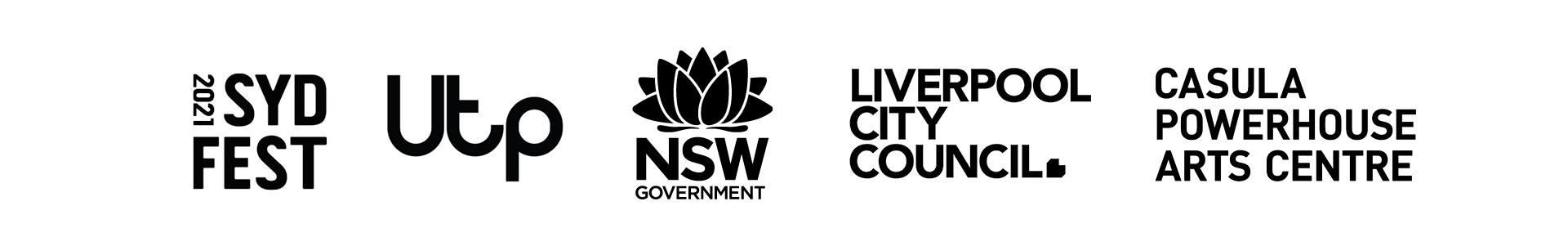 2021 Sydney Festival Logoblock