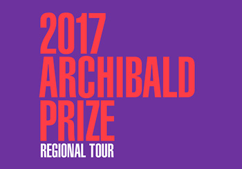 2017 Archibald Prize Regional Tour Launch Day