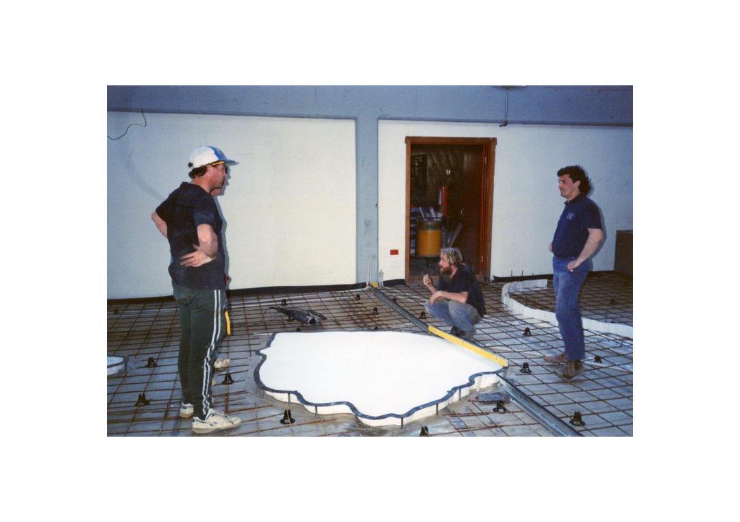 Documentation of Koori Floor making_1994